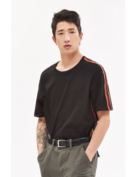 Pac Sun Jericho Side Stripe Relaxed T Shirt by Pacsun