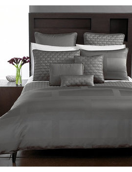 Frame Queen Duvet Cover by Hotel Collection