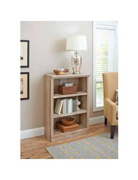Better Homes And Gardens Crossmill Collection 3 Shelf Bookcase, Multiple Finishes by Better Homes & Gardens