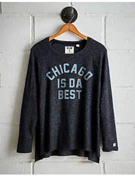 Tailgate Women's Chicago Is Da Best Plush Tee by American Eagle Outfitters