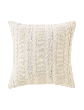 Vcny Dublin Cable Knit Throw Pillow by Kohl's