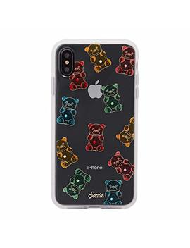I Phone Xs Max Case, Sonix Gummy Bear [Military Drop Test Certified] Protective Multi Color Rhinestone Embellished Clear Series For I Phone Xs Max by Sonix