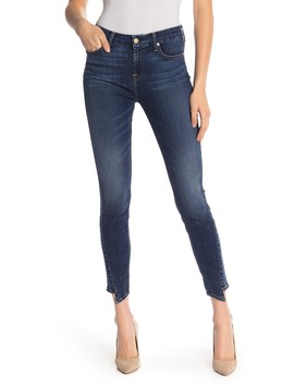 7 For All Mankind(R) B(Air) Spliced Hem Ankle Skinny Jeans (Echo) by 7 For All Mankind
