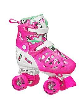 Roller Derby Girl's Trac Star Adjustable Roller Skate by Roller Derby