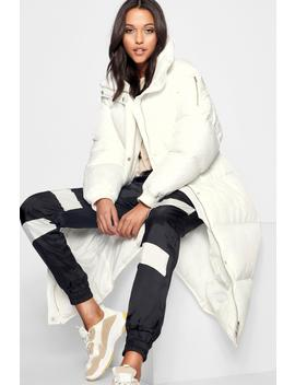 Tall Longline Padded Coat by Boohoo
