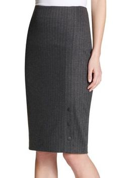 Striped Pencil Skirt by Tommy Hilfiger