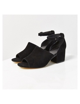 Bessie Suede Heel by Urban Outfitters