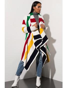 Sweet Like Candy Striped Cardigan by Akira