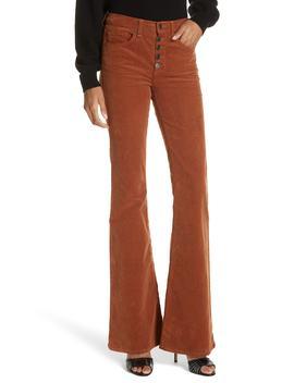 Beverly Corduroy Flare Pants by Veronica Beard