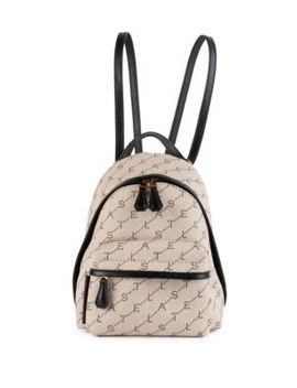 Mini Monogram Backpack by Stella Mc Cartney