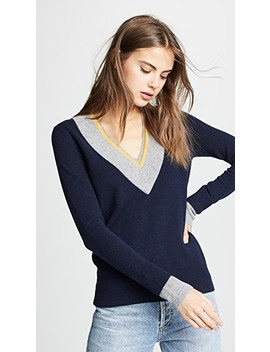 Mollie Cashmere Sweater by Veronica Beard