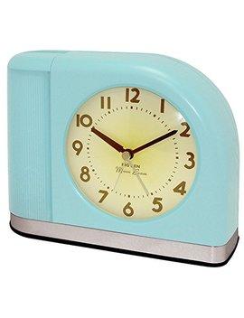 Westclox 1950 Big Ben Moonbeam Aqua Blue Alarm Clock by Big Ben