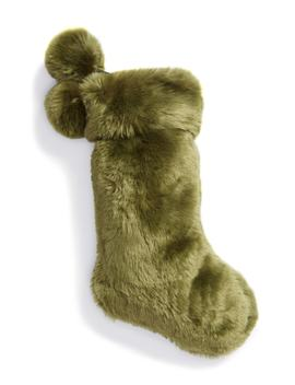 Cuddle Up Faux Fur Stocking by Nordstrom At Home