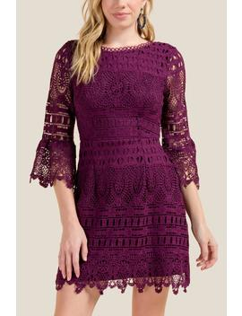 Melody Bell Sleeve Dress by Francesca's