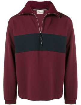 Zipped Collar Sweater by Drôle De Monsieur
