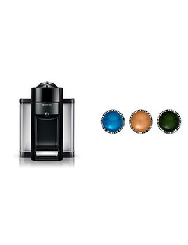 Nespresso Evoluo By De'longhi, Black And Vertuoline Best Seller Pods, 30 Ct by Amazon