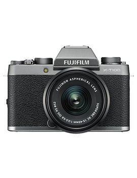 Fujifilm X T100 Mirrorless Digital Camera W/Xc15 45mm F3.5 5.6 Ois Pz Lens   Dark Silver by Fujifilm