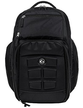 6 Pack Fitness Expedition 500 Backpack   Black Stealth Meal Management Bag by 6 Pack Fitness