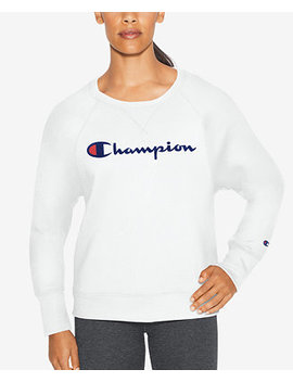 Fleece Logo Sweatshirt by Champion