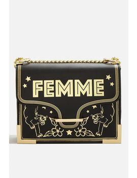 **Femme Cross Body Bag By Skinnydip by Topshop