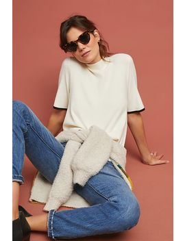 Rhiannon Mock Neck Top by Moth