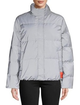 Short Reflective Down Fill Jacket by Calvin Klein Jeans