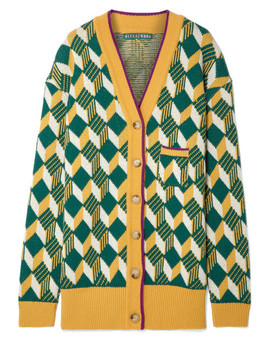 Oversized Wool Cardigan by Alexachung