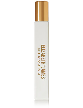 Nirvana White Rollerball Eau De Parfum   Peony, Muguet & Tender Musk, 10ml by Elizabeth And James Nirvana