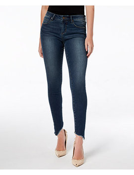 Sammy Frayed Asymmetrical Skinny Jeans by Articles Of Society