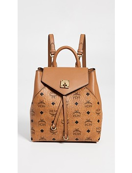 Essential Visetos Original Small Backpack by Mcm
