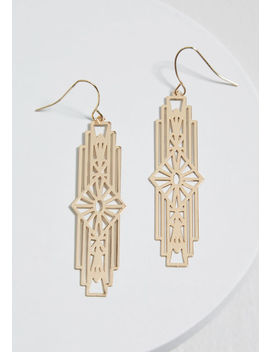 Positively Deco Earrings by Modcloth