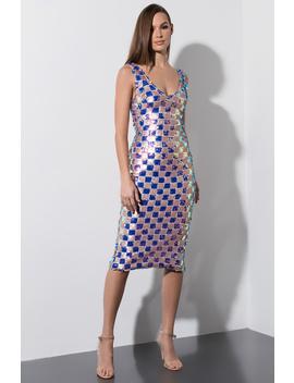 Bring It All Back Midi Sequin Dress by Akira