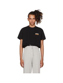 Black '100 Percents Pro' Standard T Shirt by Vetements
