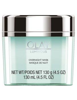 Olay Luminous Overnight Facial Mask Gel Moisturizer, 4.5 Oz by Olay