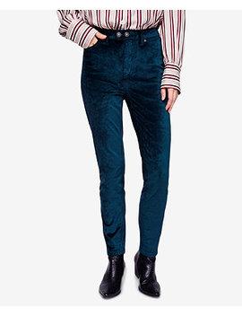 Sweet Jane Velvet Skinny Jeans by Free People