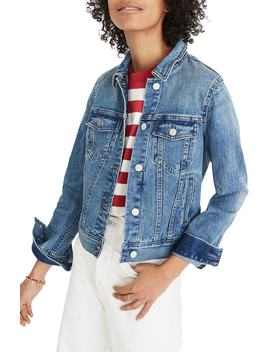 Shrunken Stretch Denim Jacket by Madewell