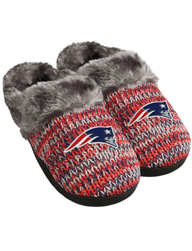 Nfl Women's New England Patriots Peak Slide Slippers Nfl Women's New England Patriots Peak Slide Slippers by Nfl
