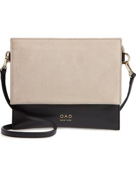 Triple Leather & Suede Crossbody Bag by Oad New York