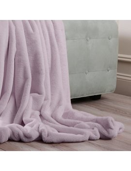 Best Home Fashion Luxe Faux Fur Throw by Best Home Fashion