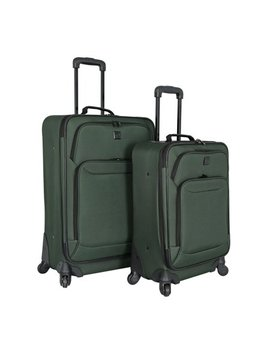 Protege 2 Piece Expandable Spinner Set Luggage by Protege