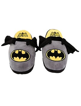 Stompeez Animated Batman Plush Slippers   Ultra Soft And Fuzzy   Wings Flap As You Walk   By by Stompeez