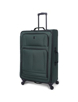 "Protege 28"" Elliptic 4 Wheel Light Weight Spinner Luggage, Green by Protege"