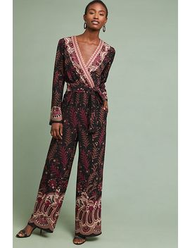 Breezeway Embroidered Jumpsuit by One September