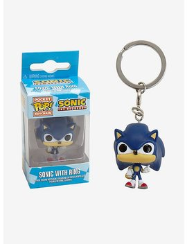 Funko Sonic The Hedgehog Pocket Pop! Sonic With Ring Key Chain by Hot Topic