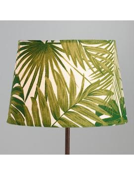 Jungle Print Cotton Accent Lamp Shade by World Market