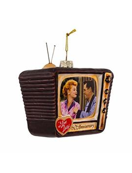 I Love Lucy Kurt Adler Glass Tv Ornament by I Love Lucy