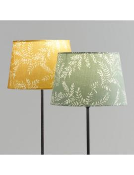 Mustard Yellow Or Light Blue Yellowstone Accent Lamp Shade by World Market