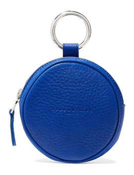Circle Pop Textured Leather Pouch by Simon Miller