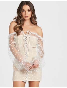 Lace About You Mini Dress by Lioness