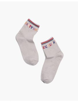 Party On Ankle Socks by Madewell